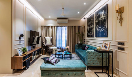 Mumbai Houzz TV: An Apartment is Transformed Into a Glam Home