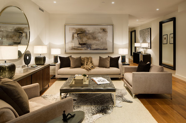 Contemporary Living Room by Zephyr