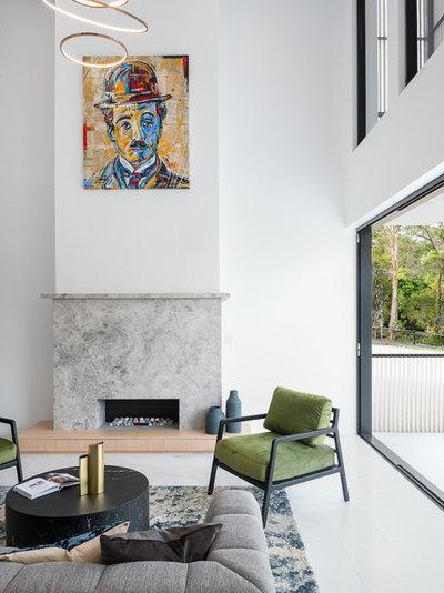 Contemporary Living Room The Park House