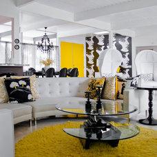 Midcentury Living Room by ModShop - LA, OC, NY, Palm Springs & Miami