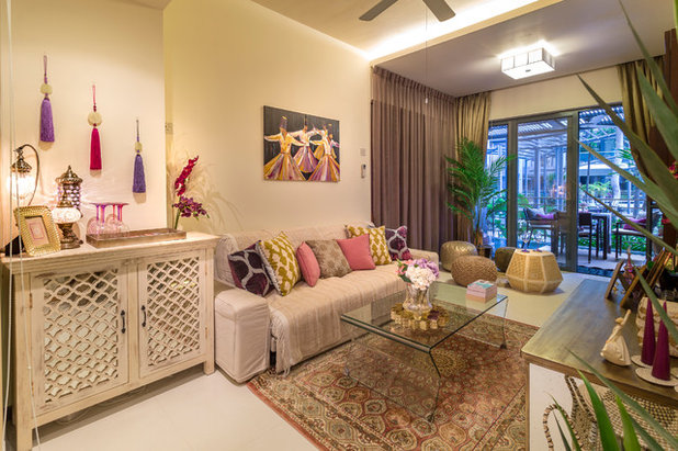 Room Of The Week: A Living Roomu0027s Middle Eastern Moroccan Inspiration