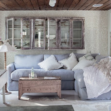 Eclectic Living Room by Amy Neunsinger