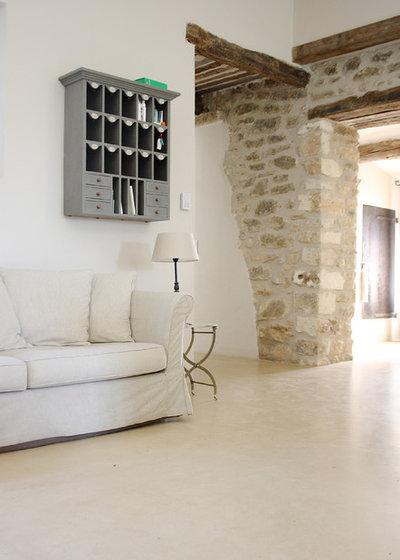 Pietre faccia vista per interni piastrelle per muro in - Soggiorno con muro in pietra ...