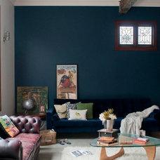 Eclectic Living Room by Etica Studio