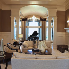 Contemporary Living Room by Browning Homes, Inc.