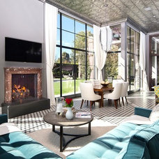 Contemporary Living Room by The Kristoffer Winters Company
