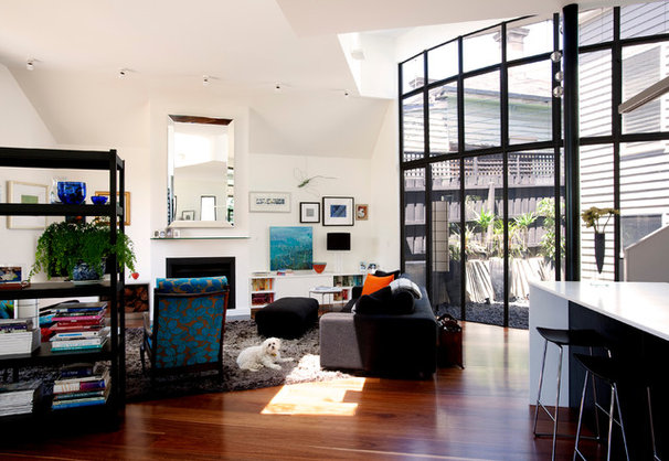 Contemporary Living Room by Michelle Williams Photography
