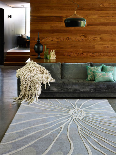Contemporary Living Room by Shaynna Blaze