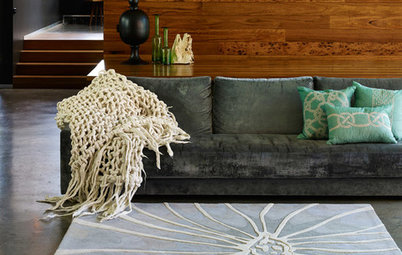 Make a Statement With a Bold, Artistic Rug