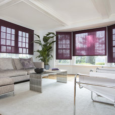 Modern Living Room by The Shade Store