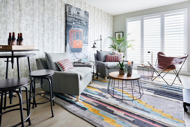 Contemporary Living Room by Cheryl Ketner Interiors