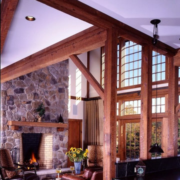 The Somerset Post and Beam Barn Home
