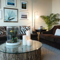 Contemporary Living Room by Brian Patterson Designs, Inc.
