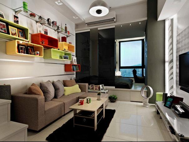 Modern Living Room by 大衛麥可國際設計工程有限公司