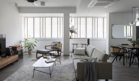 Houzz Tour: Singapore Colonial Meets Scandi Style in This Unit
