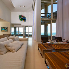Contemporary Living Room by Yaniv Schwartz - Photographer