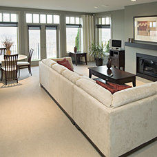 Contemporary Living Room by Donald A. Gardner Architects