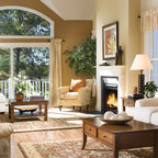 Modern Green Seattle Remodel Transitional Living Room