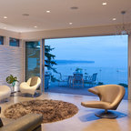 The Wave House Modern Entry Vancouver By