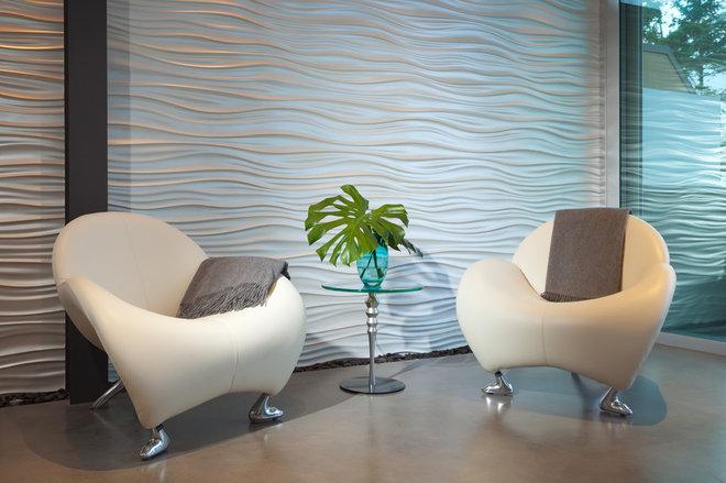 Modern Living Room by kbcdevelopments