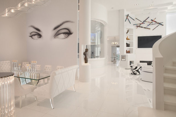 Contemporain Salon by Boca Theater and Automation