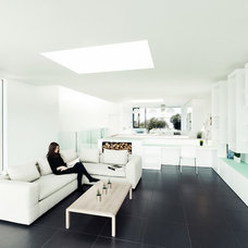 Contemporary Living Room by Spacial Images