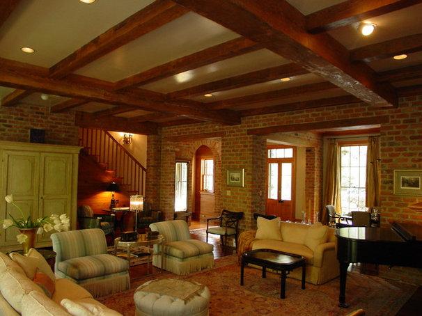 Traditional Living Room by Al Jones Architect