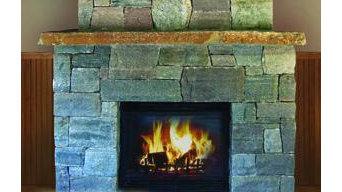 Thin Stone Fireplaces