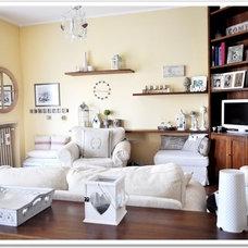 Eclectic Living Room Thinkshabby