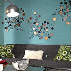 Modern Living Room thom felicia design - Dress My Nest
