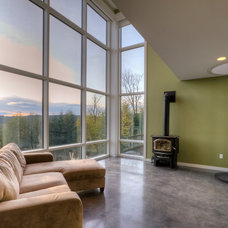 Contemporary Living Room by Dan Nelson, Designs Northwest Architects
