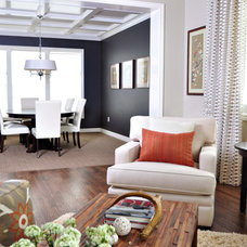 Contemporary Living Room by Judith Balis Interiors
