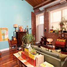 Eclectic Living Room by Holly Mack-Ward & Co.
