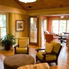 Traditional Living Room by Jennifer Butler Interior Design