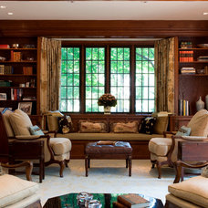 Traditional Living Room by Meyer & Meyer, Inc.