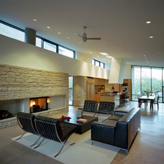 modern living room by Nick Deaver Architect
