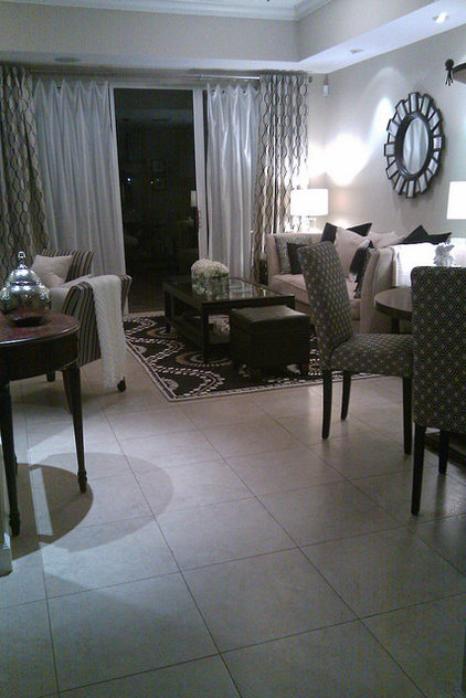 Contemporary Living Room by FOCAL POINT STYLING