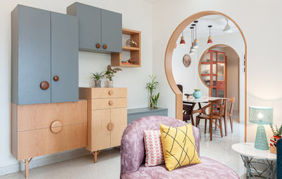 Mumbai Houzz: A Pastel Paradise of Playful Shapes, Restful Spaces