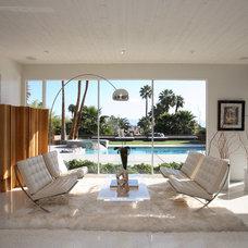 Midcentury Living Room by Gregory Albert Design
