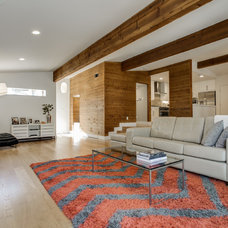 Midcentury Living Room by Alphapex Construction Services