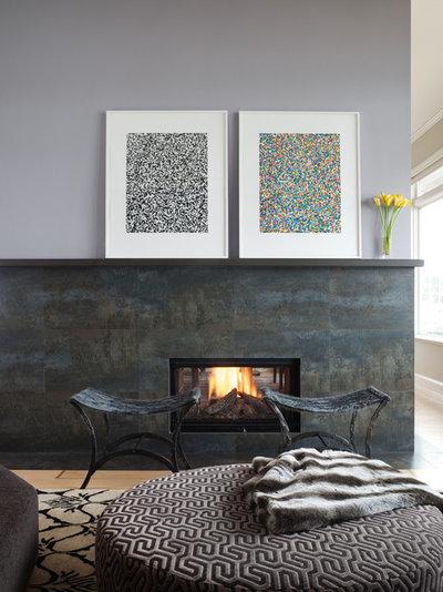 Contemporary Living Room by gloria marth design