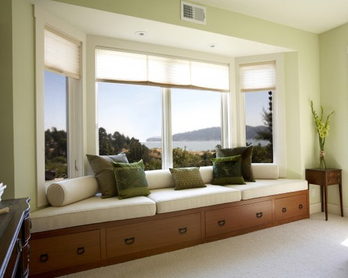 Inspiration For A Mid Sized Contemporary Open Concept Living Room Remodel  In San Francisco With