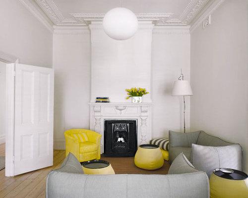Transitional Living Room Design Ideas, Renovations & Photos