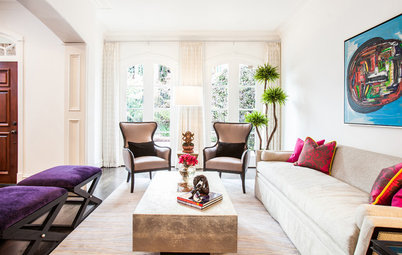 Rooms of the Day: Bringing the Happy Into Formal Spaces