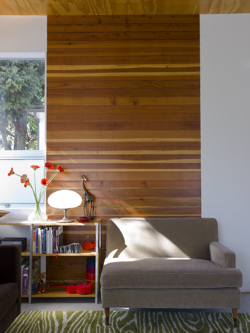 Ideas For Rooms With Wood Paneling: Modern Wood Paneling Home Design Ideas, Pictures, Remodel