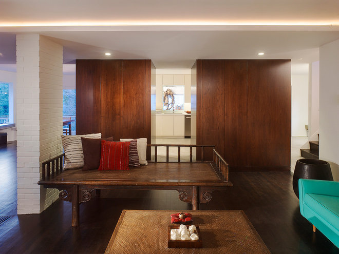 Modern Living Room by The Ley Group