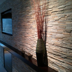 Tile - Fireplace - Contact DeGraaf Interiors for more information