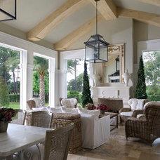 Traditional Living Room by YAWN design studio, inc. FL IB 26000604