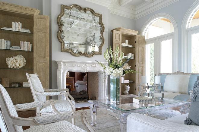 Eclectic Living Room by YAWN design studio, inc. FL IB 26000604
