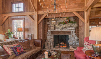 Timber Frame Home in Rock Island, Tennessee